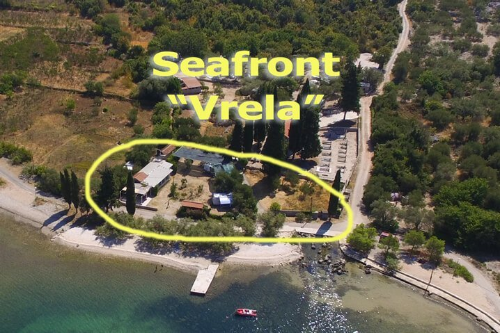 Seafront Brijesta Dubrovnik Camping Vrela BirdsEye View