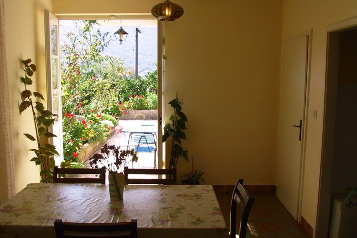 Holiday Apartment 4+1 Persons dining room