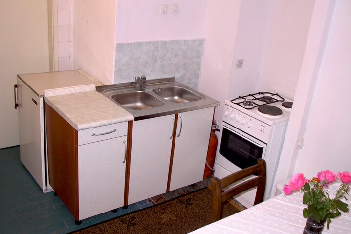 Family Apartment 4 Persons Kitchen