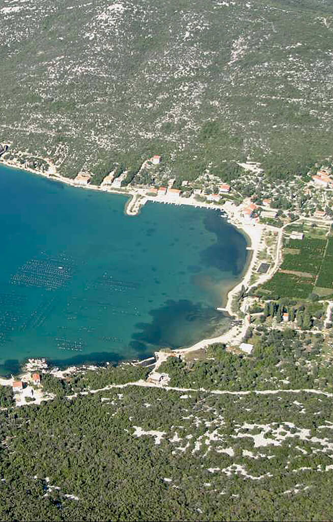 Camping Holidays Brijesta bay area