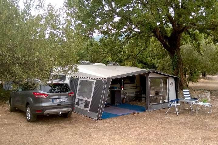 caravan trailers camping Brijesta Croatia