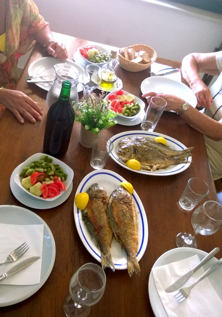 Food Beverages Club Lodge dinner table