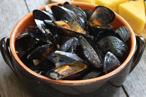 Camping Holidays Local Fresh Mussels