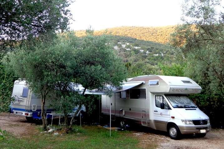 Motorhome Camping Brijesta Croatia