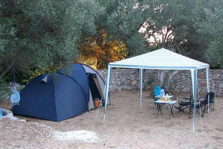 tent camping Brijesta Dubrovnik Croatia